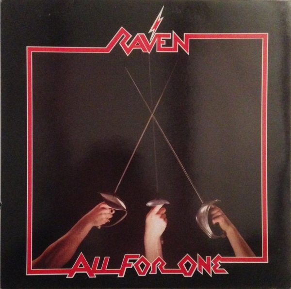 Raven - All For One - 1983