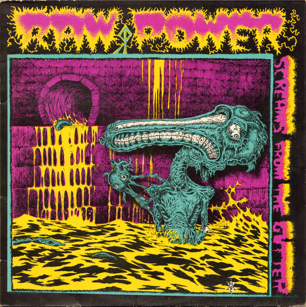 Raw Power - Screams From The Gutter - 1985
