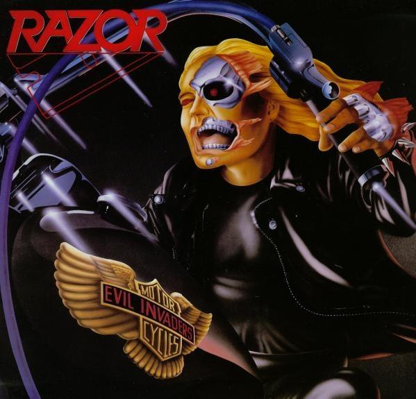 Razor - Evil Invaders - 1985