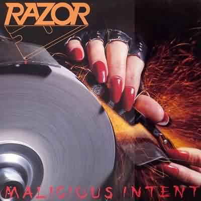 Razor - Malicious Intent - 1986