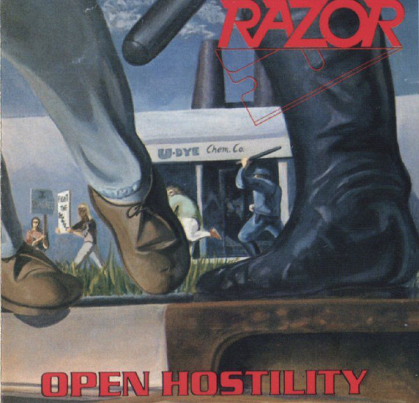 Razor - Open Hostility - 1991