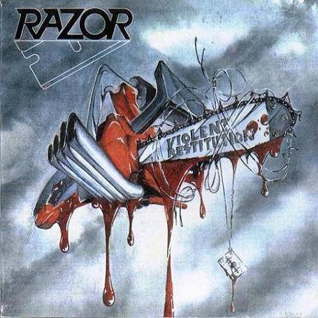 Razor - Violent Restitution - 1988