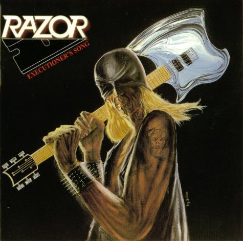Razor - Executioner's Song - 1985