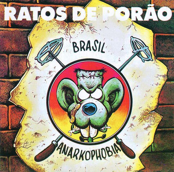 Ratos De Porão - Brasil / Anarkophobia - 1989/1991