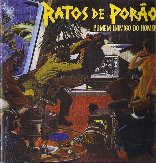 Ratos De Porão - Homem Inimigo Do Homem - 2007