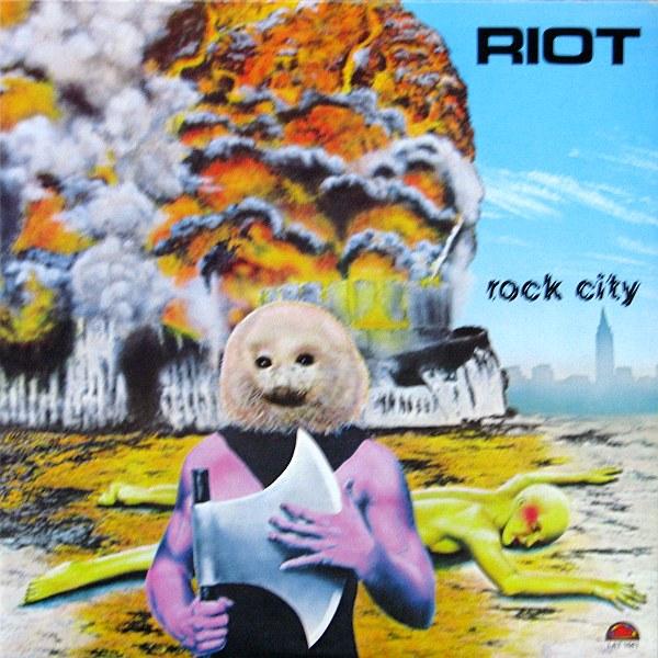 Riot - Rock City - 1977