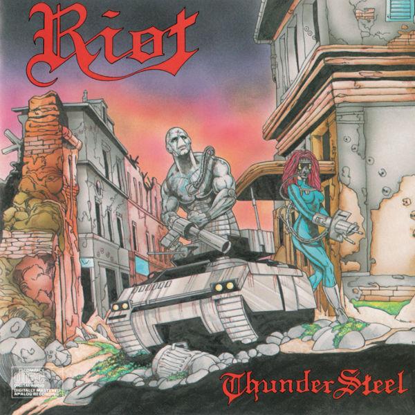 Riot - Thundersteel - 1988
