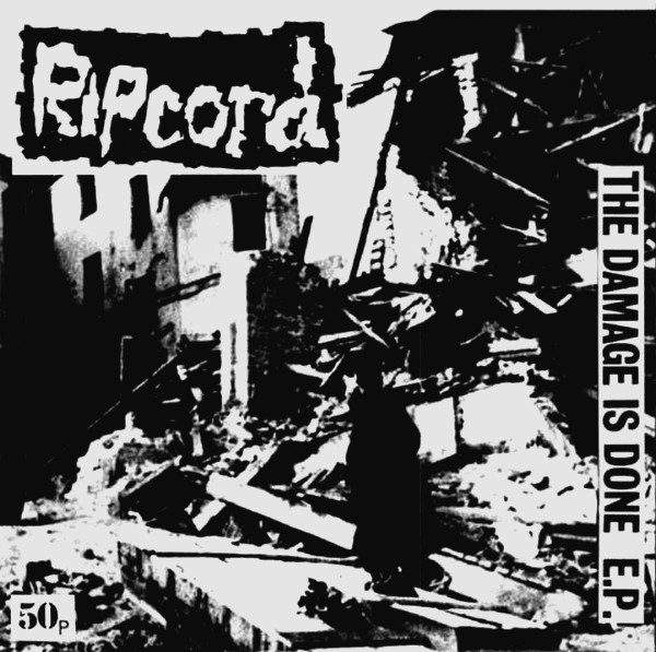 Ripcord - The Damage Is Done Flexi 7'' 1986