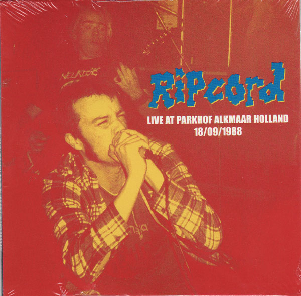 Ripcord - Live At Parkhof Alkmaar Holland 18-09-1988 1988
