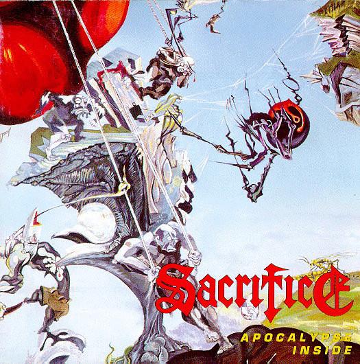 Sacrifice - Apocalypse Inside - 1993