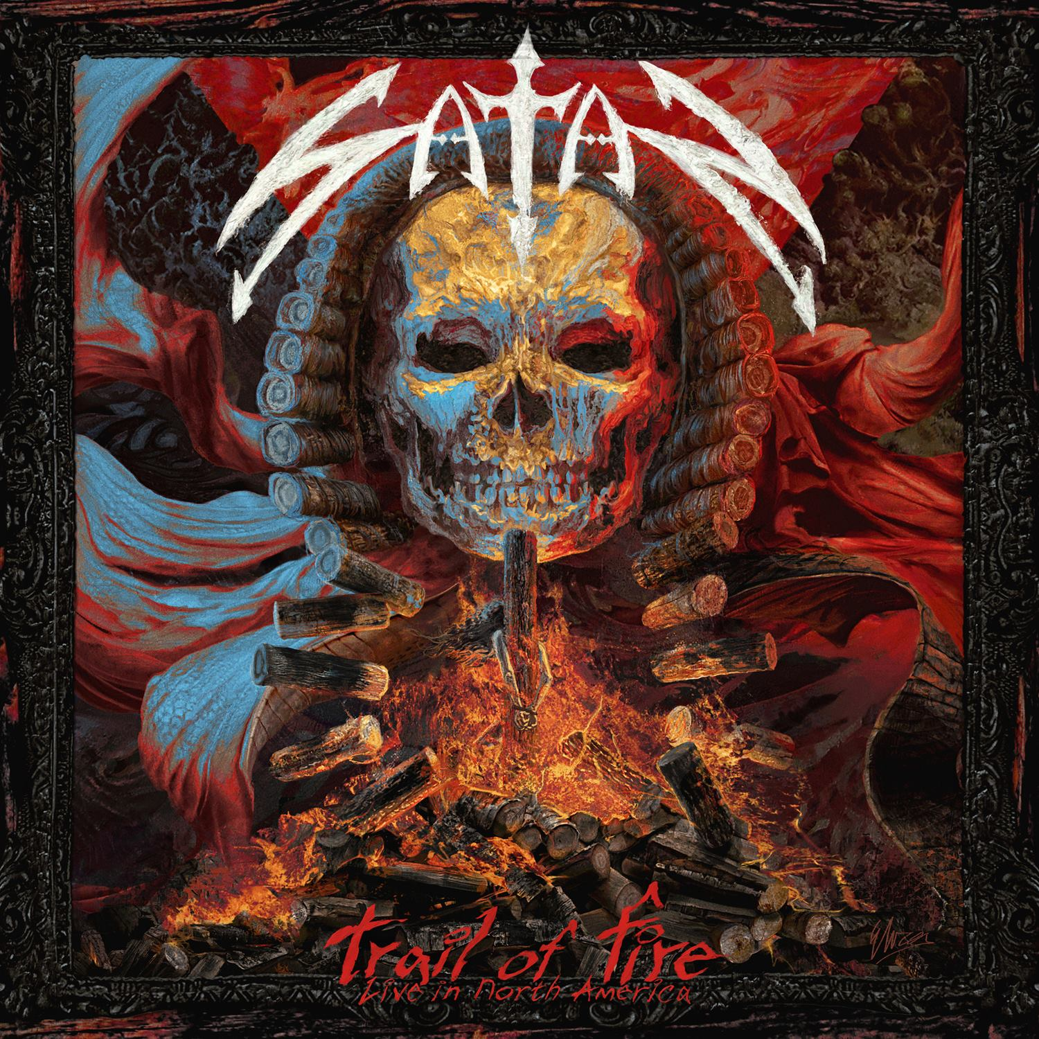 Satan - Trail Of Fire- Live In North America - 2014
