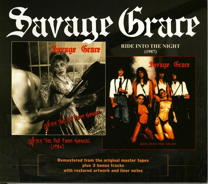 Savage Grace - After The Fall From Grace / Ride Into The Night - 1986/1987 (2010 Reissue)