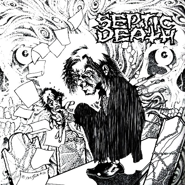 Septic Death - Burial 7'' 1987