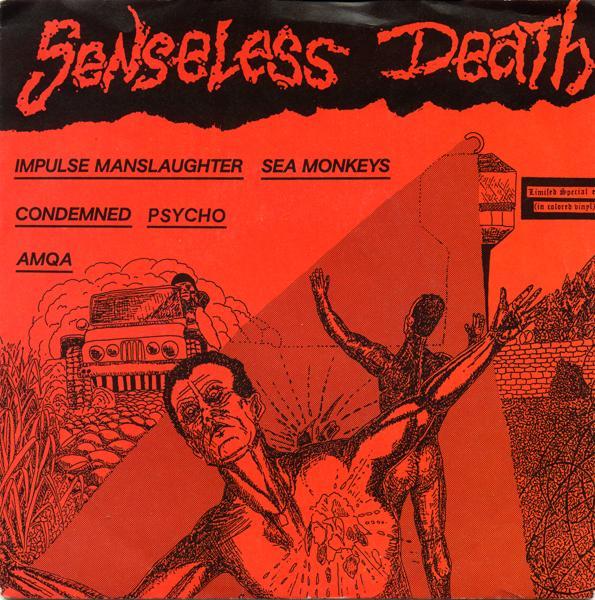 Various Artists - Senseless Death 7'' 1987
