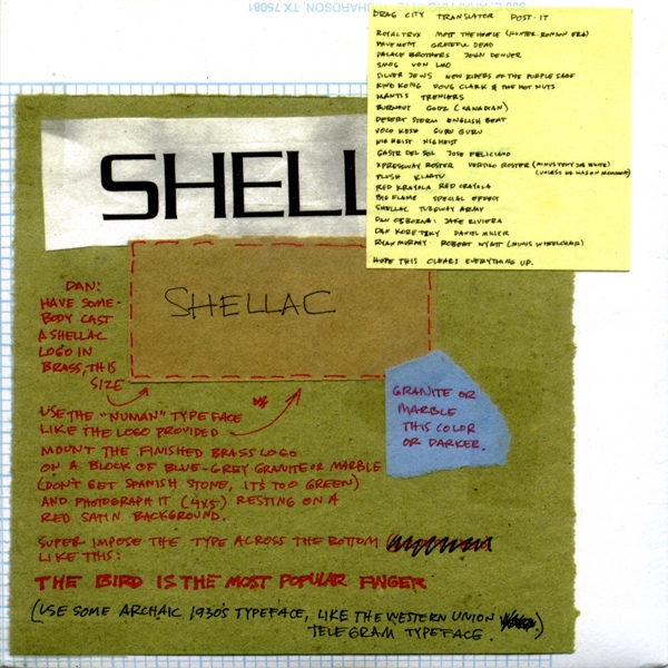 Shellac - The Bird Is The Most Popular Finger - 1994