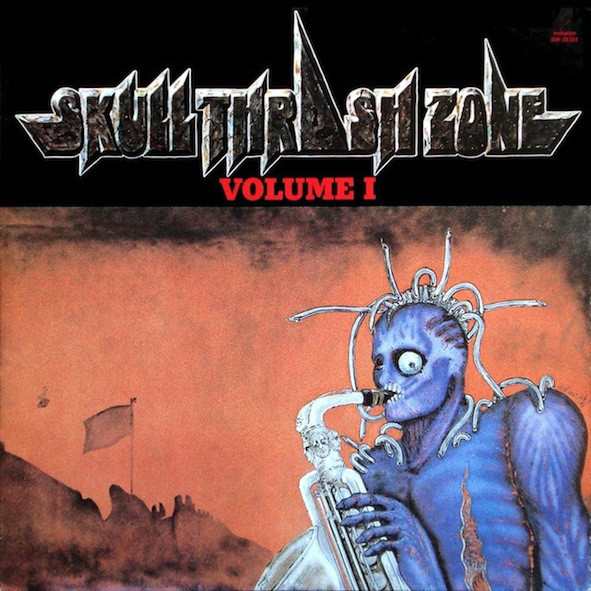 Various - Skull Thrash Zone Volume I - 1987