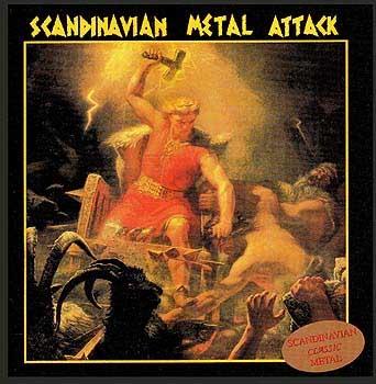Various - Scandinavian Metal Attack - 1984