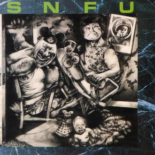 SNFU - Better Than A Stick In The Eye - 1988