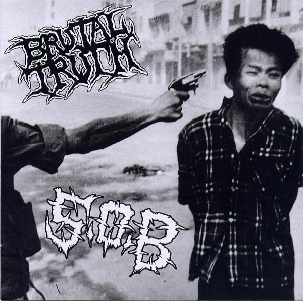 Brutal Truth - Live Split 7'' S.O.B. 1995