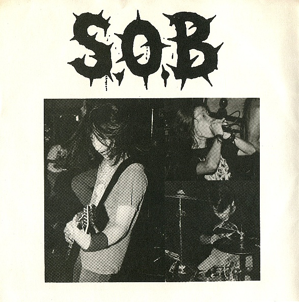 Sabotage Organized Barbarian - UK / European Tour June '89 - 1990