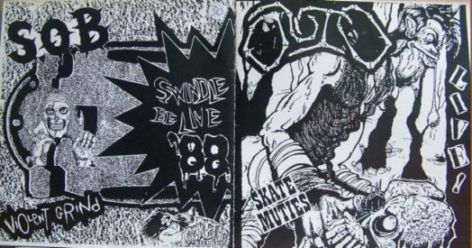 Sabotage Organized Barbarian, Outo - Skate Muties Live! / Swindle Be Live '88 - 1988