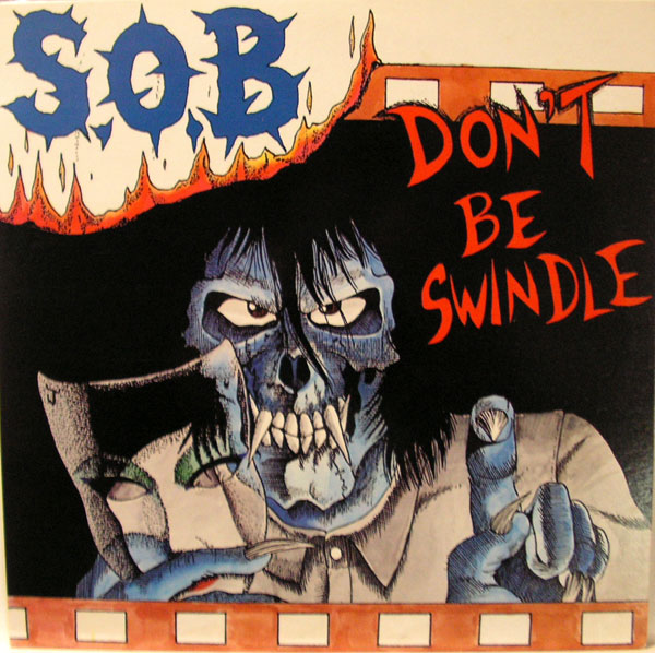 Sabotage Organized Barbarian - Don't Be Swindle - 1987