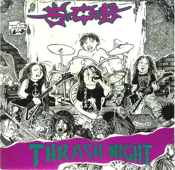Sabotage Organized Barbarian - Thrash Night - 1989