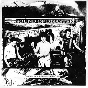 Sound Of Disaster - Lagar Och Förordningar EP - 1983