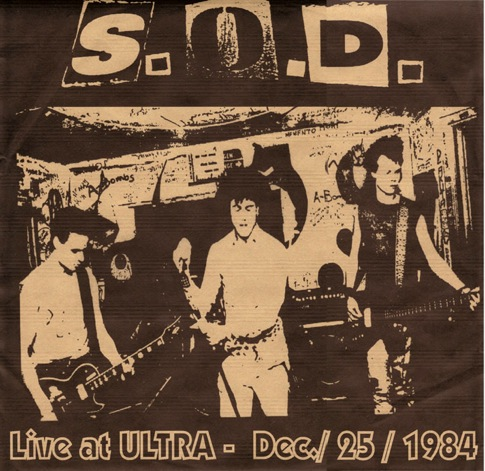 Sound Of Disaster - Live At Ultra - Dec./25/1984 - 1984