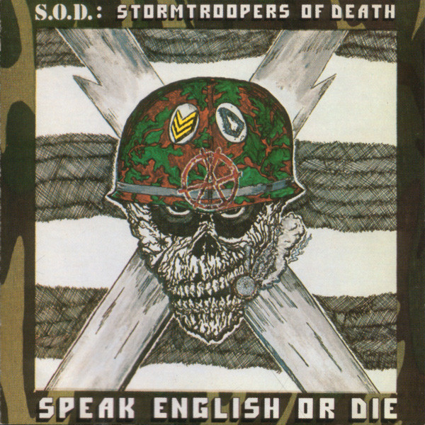 Stormtroopers Of Death - Speak English Or Die - 1985
