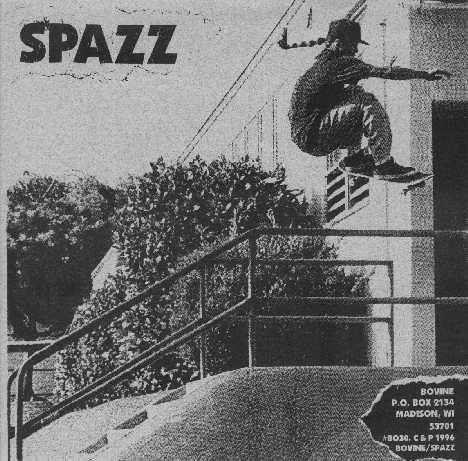 Spazz, Brutal Truth - Spazz / Brutal Truth - 1996