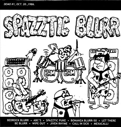 Spazztic Blurr, Brutal Truth - Demo #1, Oct. 20., 1986. / Demo #1, Feb. 26., 1990. - 1999