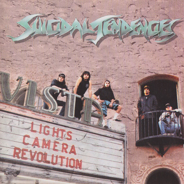Suicidal Tendencies - Lights Camera Revolution - 1990