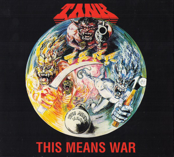 Tank - The Filth Hounds Of Hades - Dogs Of War 1981-2002 - 1983
