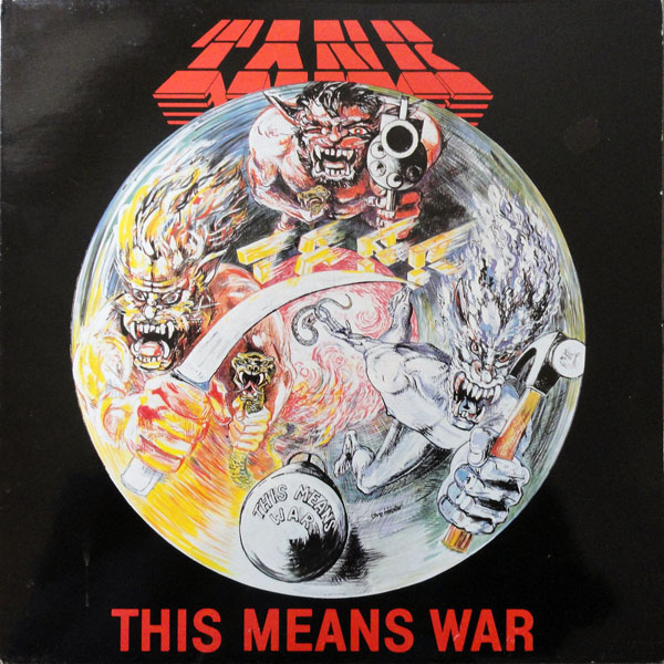 Tank - This Means War - 1983