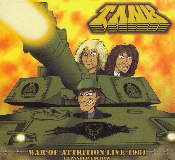 Tank - The Filth Hounds Of Hades - Dogs Of War 1981-2002 - 1981