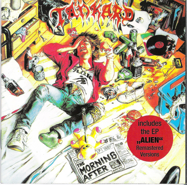 Tankard - The Morning After / Alien - 1988