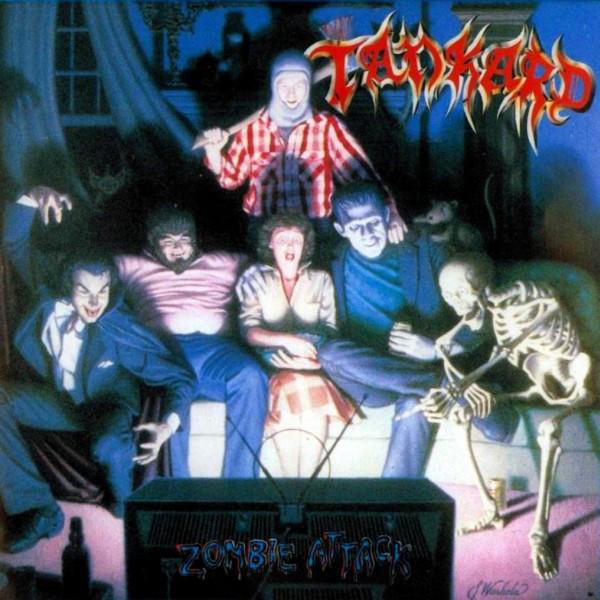 Tankard - Zombie Attack - 1986