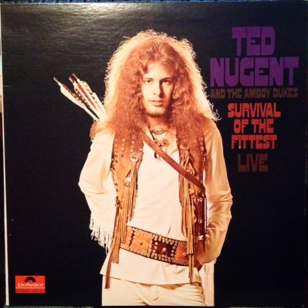 Ted Nugent, The Amboy Dukes - Survival Of The Fittest - Live - 1971