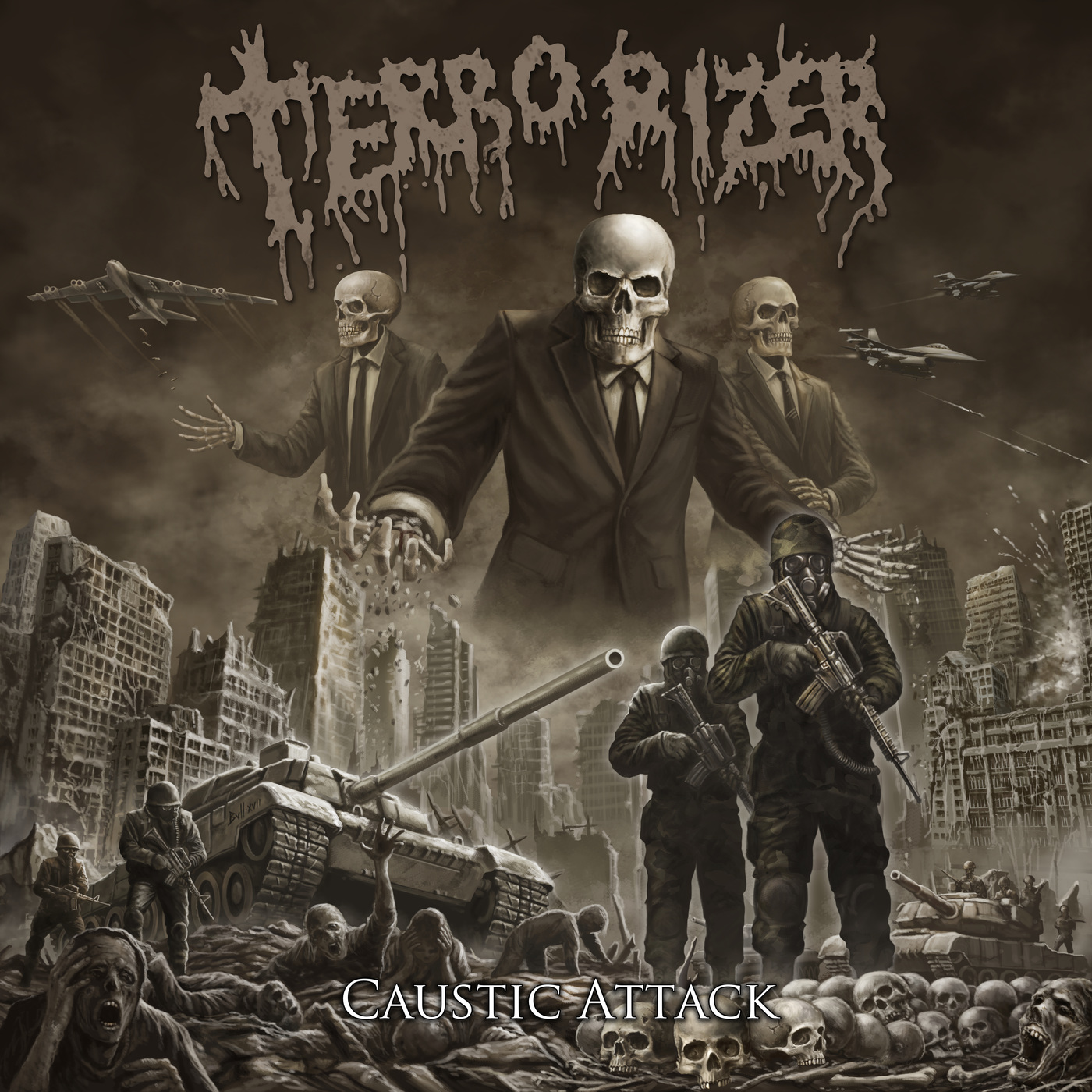 Terrorizer - Caustic Attack - 2018