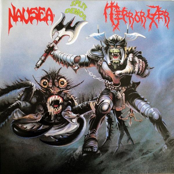 Terrorizer, Nausea - Split Demos - 1991