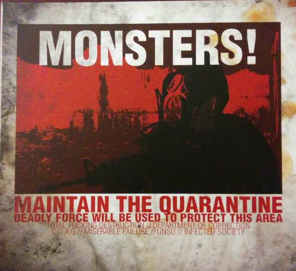 Unsu, Department Of Correction, Total Fucking Destruction, C.O.A.G., Infected Society, Miserable Failure - Monsters! - 2014