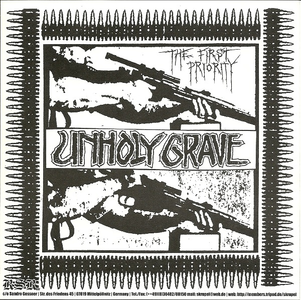 Kerum, Unholy Grave - The First Priority / Untitled - 2002