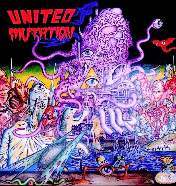 United Mutation - Freaks Out - 1989