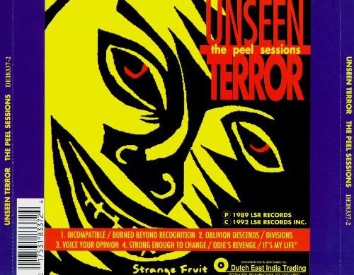 Unseen Terror - The Peel Sessions - 1989