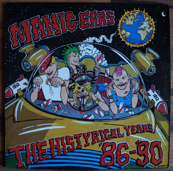 Various - Manic Ears - The Histyrical Years '86-'90 - 1990