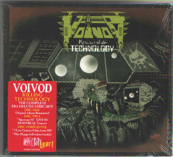 Voïvod - Killing Technology - 1987