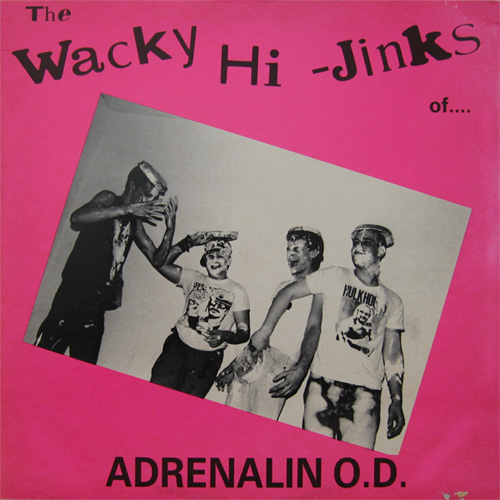 Adrenalin O.D. - The Wacky Hijinks Of A.O.D. + Humungousfungusamongus 1984/1986