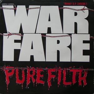 Warfare - Pure Filth (Banzaï Version) 1984