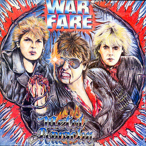 Warfare - Metal Anarchy 1985